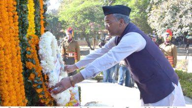 Photo of विजय दिवस पर सीएम रावत ने देश की रक्षा करने वाले वीर शहीदों को अर्पित की श्रद्धांजलि