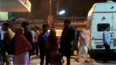 Photo of VIDEO : UP के अलीगढ़ में भयानक सड़क हादसा, पांच लोगों की मौत