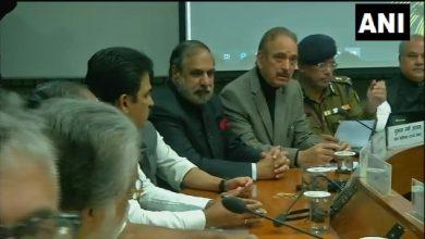 Photo of LIVE : Pulwama के आतंकी हमले के बाद केंद्र सरकार की सर्वदलीय बैठक शुरू
