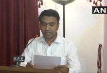 डॉ. प्रमोद सावंत ने गोवा के मुख्यमंत्री पद की शपथ ली