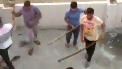 क्रिकेट खेल रहे मुस्लिमों को पीटा