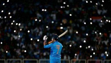 धोनी को आखिरी दो वनडे मैचों में आराम
