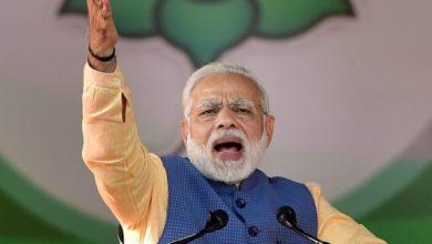 प्रधानमंत्री नरेंद्र मोदी ने रुद्रपुर में की विजय शंखनाद रैली