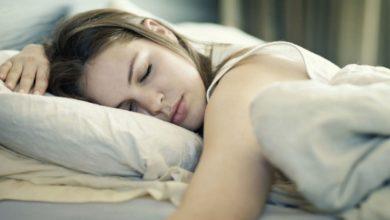 सोते समय