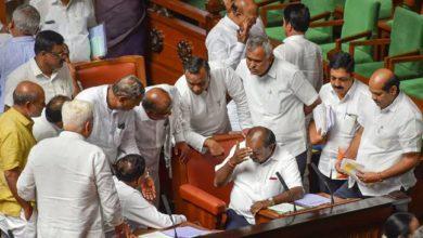 Photo of Karnataka Floor Test LIVE : BJP पहुंची राज्यपाल के पास, कहा- विश्वासमत पर तुरंत हो वोटिंग