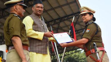 Photo of राष्ट्रीय एकता दिवस पर देहरादून में पुलिसवालों को मिला सम्मान