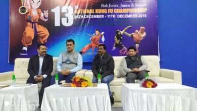 Photo of आत्मरक्षा के खेल कुंग फू को हर स्तर से बढ़ावा दिया जाना चाहिए: शिशिर