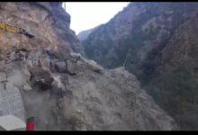 Photo of उत्तरकाशी में टूटी भारी मात्रा में चट्टानी पहाड़ी, बॉर्डर रोड ऑर्गेनाइजेशन की अनदेखी