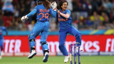 Photo of IND vs AUS : पूनम के वार से ऑस्ट्रेलिया पस्त, भारत ने चार बार के चैंपियन को रौंदा