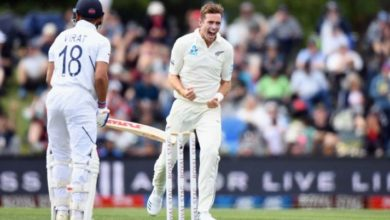 Photo of IND vs NZ : दूसरे दिन भारत ने न्यूज़ीलैंड को किया ऑल आउट, 97 रनों की बनाई बढ़त