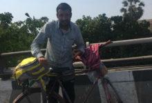 Photo of लॉकडाउन : पिता के बेहतर इलाज के लिए बेटे ने साइकिल से तय की 2200 किमी की दूरी