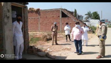 Photo of लंढौरा के दो राज मिस्त्रियों को हुआ कोरोना, कस्बे में दहशत