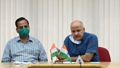 Photo of दिल्ली में कोरोना के रिकॉर्ड 1106 नए केस आए पिछले 24 घंटे में, सिसोदिया बोले – घबराने की जरूरत नहीं