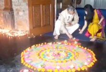 Photo of VIDEO : श्रीराम जन्मभूमि मंदिर के शिलान्यास पर सीएम त्रिवेंद्र ने मनाया दीपोत्सव