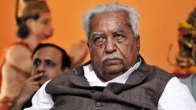 Photo of गुजरात के पूर्व मुख्यमंत्री केशुभाई पटेल का निधन