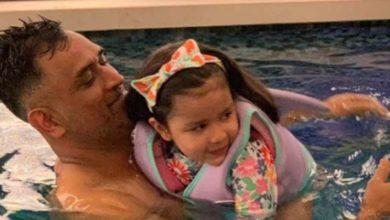 Photo of धोनी की पत्नी साक्षी को मिली उनकी पांच साल की बेटी से रेप की धमकी