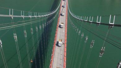 Photo of डोबरा-चांठी पुल पर दौड़ाए गए 15-15 टन के 14 ट्रक, देखें अद्भुत नज़ारा