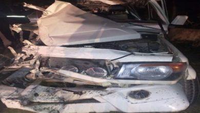 Photo of बस और बोलेरो में जबरदस्त भिड़ंत, 02 की मौत