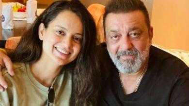 Photo of बॉलीवुड अभिनेत्री कंगना रनौत ने संजय दत्त से की मुलाकात