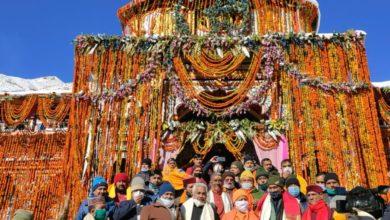 Photo of इस वर्ष 1 लाख 45 हजार श्रद्धालुओं ने किए भगवान बदरीनाथ के दर्शन