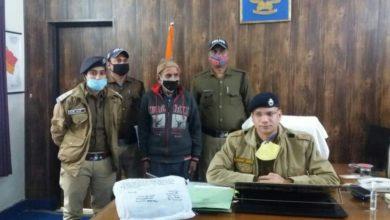 Photo of कौसानी पुलिस ने चैकिंग के दौरान पकड़ी 1 किलो 41 ग्राम अवैध चरस