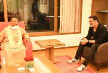 Photo of दो दिनों के दौरे पर मुंबई पहुंचे सीएम योगी, अक्षय कुमार से की मुलाकात