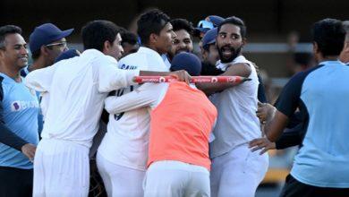 Photo of INDvAUS : गाबा में जीता भारत, 2-1 से अपने नाम की टेस्ट सीरीज़