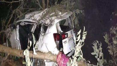 Photo of सड़क हादसे में केंद्रीय मंत्री श्रीपद नाइक की पत्नी का निधन