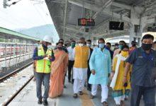 Photo of न्यू ऋषिकेश योगनगरी रेलवे स्टेशन पर ट्रेनों का संचालन शुरू