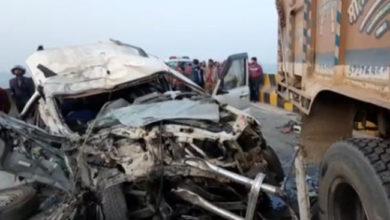 Photo of बिहार: कटिहार में दर्दनाक सड़क हादसा, एक ही परिवार के छह लोगों की मौत