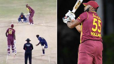 Photo of कीरान पोलार्ड ने एक ओवर में 6 छक्के जड़कर रचा इतिहास, युवराज-गिब्स पहले कर चुके हैं ये कारनामा