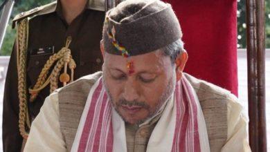 Photo of उत्तराखंड के मुख्यमंत्री तीरथ सिंह रावत हुए कोरोना पॉजिटिव, खुद को किया आइसोलेट