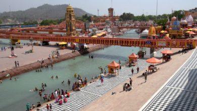 Photo of हरिद्वार महाकुंभ में रामनवमी के स्नान पर गंगाघाट में पसरा सन्नाटा