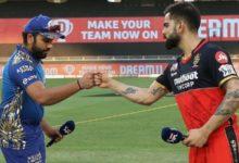 Photo of आईपीएल के पहले मैच में बैंगलोर ने मुंबई को 2 विकेट से दी मात