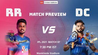 Photo of IPL : आज दिल्ली और राजस्थान आमने-सामने, संजू सेमसन को खलेगी स्टोक्स की कमी