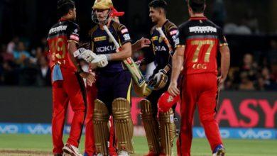 Photo of IPL : KKR के खिलाफ बेंगलुरु की धमाकेदार जीत, डिविलियर्स ने लगाया अर्धशतक
