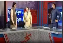 Photo of पाकिस्तानी न्यूज़ चैनल पर डिबेट बनी कुश्ती का अखाड़ा, महिला पैनलिस्ट ने जड़ा विपक्षी नेता को थप्पड़