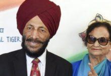 Photo of मिल्खा सिंह ने निर्मल कौर के हाथ पर ही लिख दिया फ़ोन नंबर, काफी दिलचस्प है दोनों की लवस्टोरी