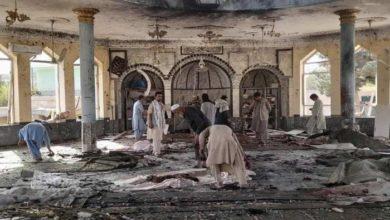 Photo of अफ़ग़ानिस्तान में नमाज के दौरान मस्जिद में हुआ बड़ा ब्लास्ट, 100 से ज़्यादा लोगों की मौत