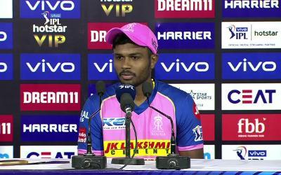 प्लेऑफ से बाहर होने पर राजस्थान के कप्तान संजू सैमसन ने दिया भावुक कर देना वाला भाषण